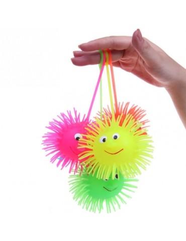 1pc LED Smile Face Hedgehog Ball