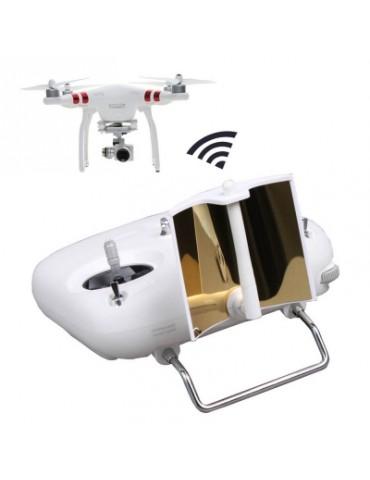 Parabolic Remote Controller Range Extender Transmitter Signal Booster for DJI Phantom 3 Standard 2 A