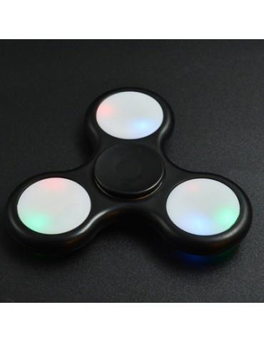 Color Changing LED Lights Fidget Toy Finger Spinner