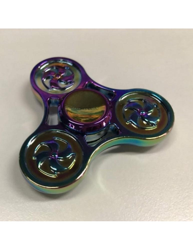 Wheel Pattern Rotating Finger Gyro
