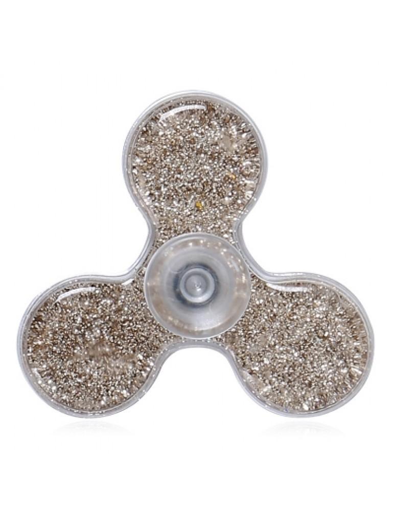 Flowing Glitter Powder EDC Plastic Fidget Spinner